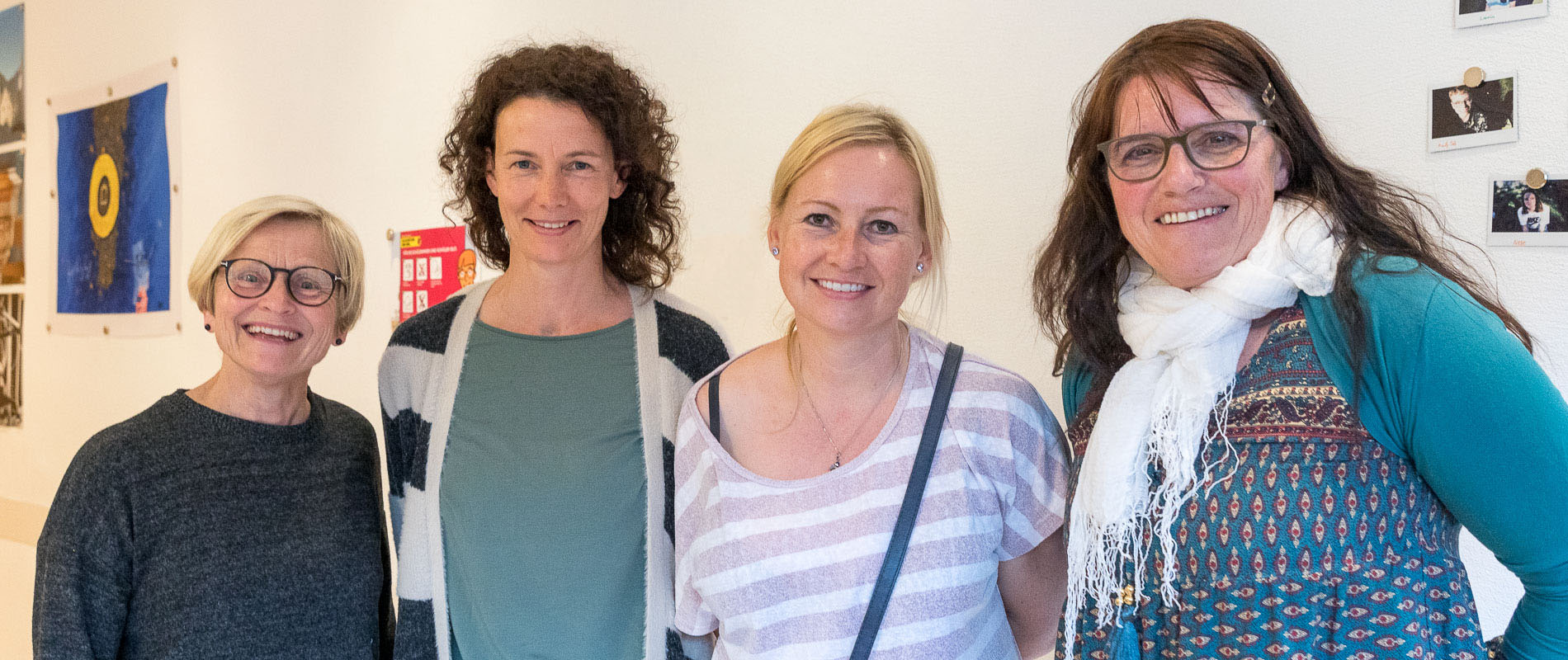 Judith Pandolfi, Marianne Liesch (Religionsunterricht und Chrabbelgottesdienst), Nadine Jermann, Rita Insel